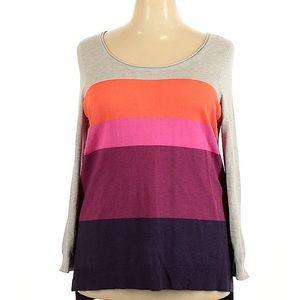 Striped sweater women's 18-20